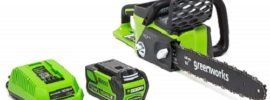 Best battery operated chainsaw