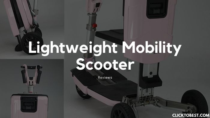 Lightweight Mobility Scooter Reviews